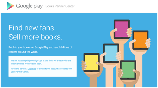 One More Excellent Reason to Publish on Google Play Books